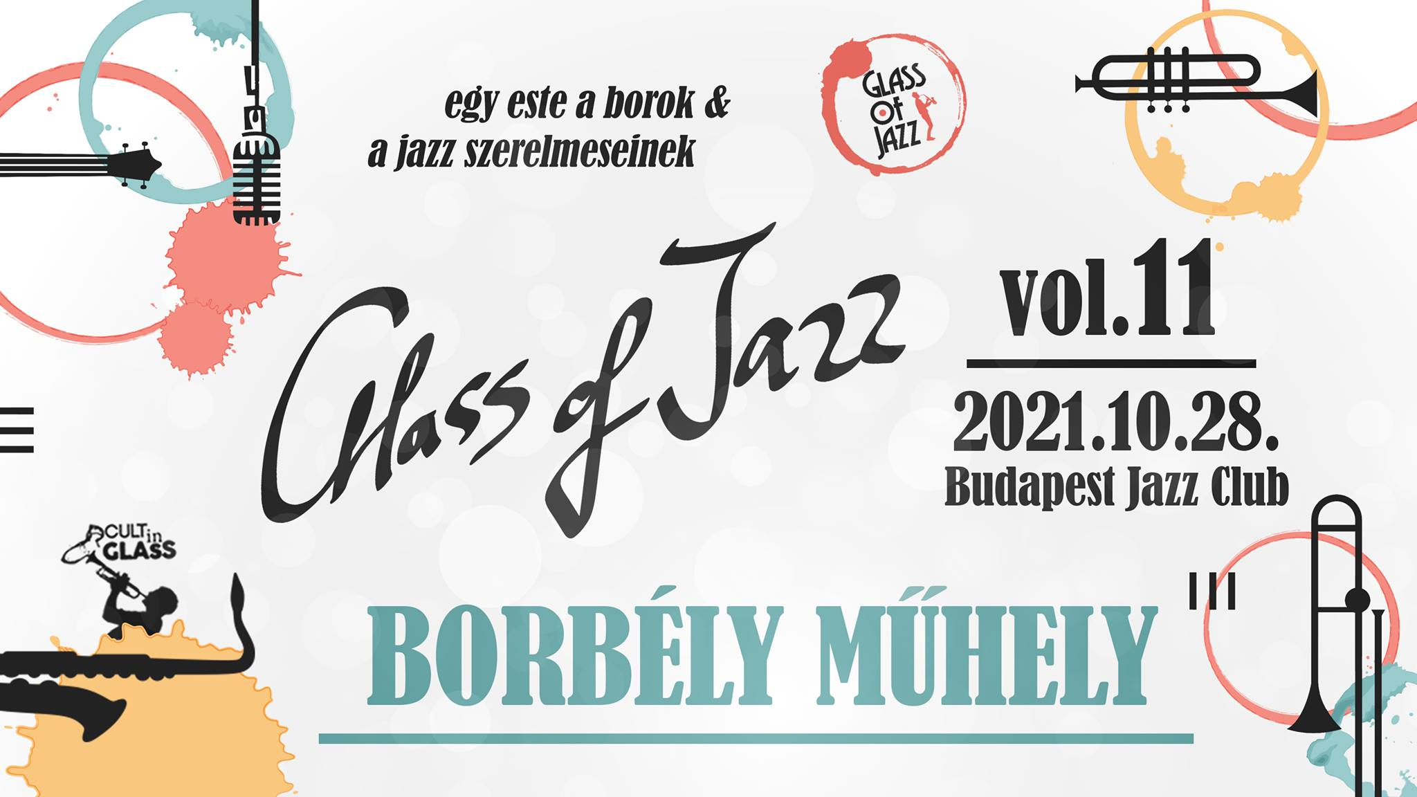Glass of Jazz vol.11. – A Night for the Lovers of Wine and Jazz