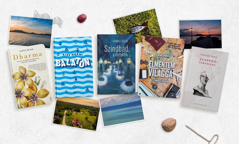 5 könyv + 5 bor a strandon