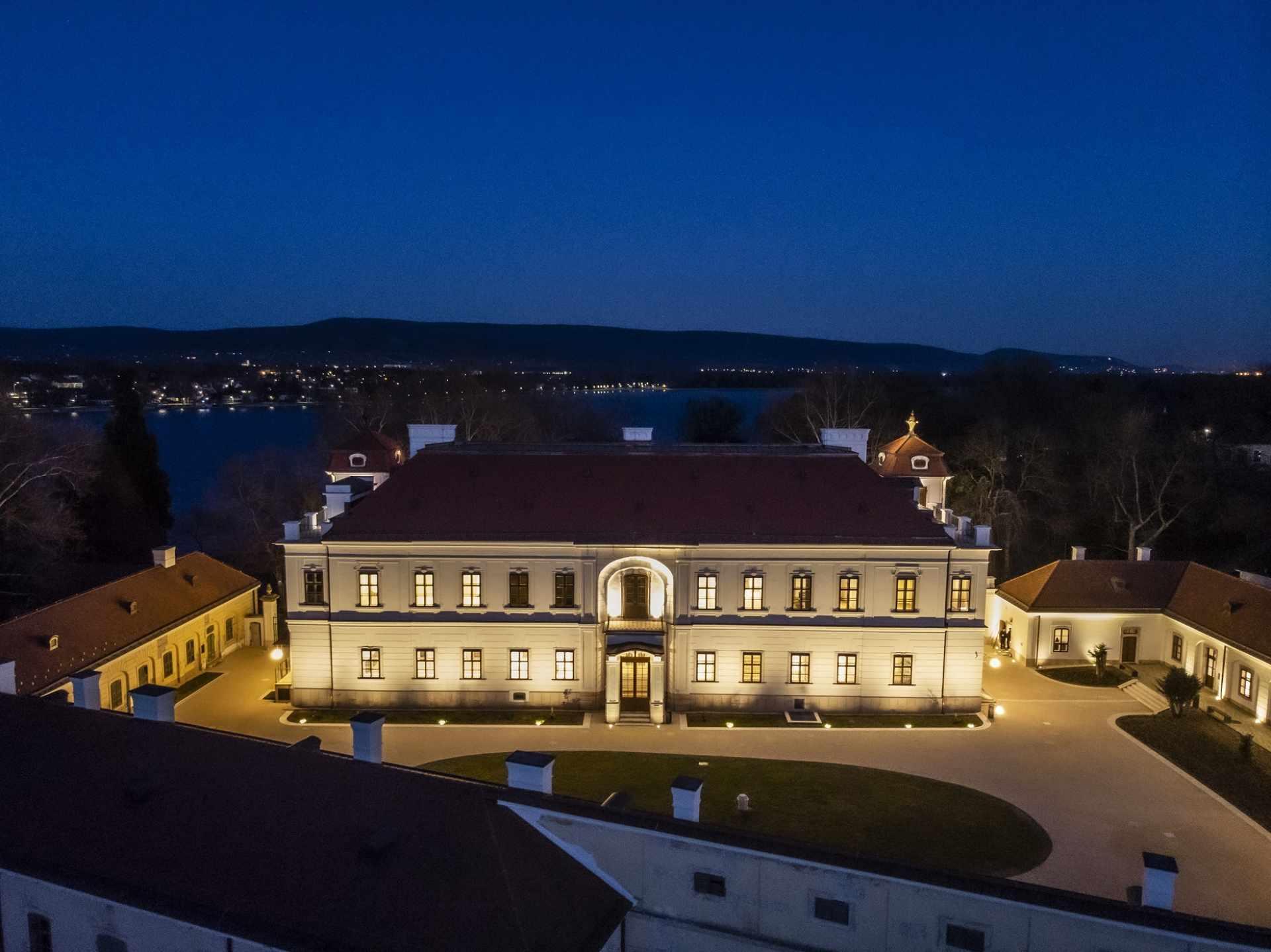 Az Esterházy-kastély (Nemzeti Örökségvédelmi Fejlesztési Nonprofit Kft. a kép készítője: Kovács Zoltán)
